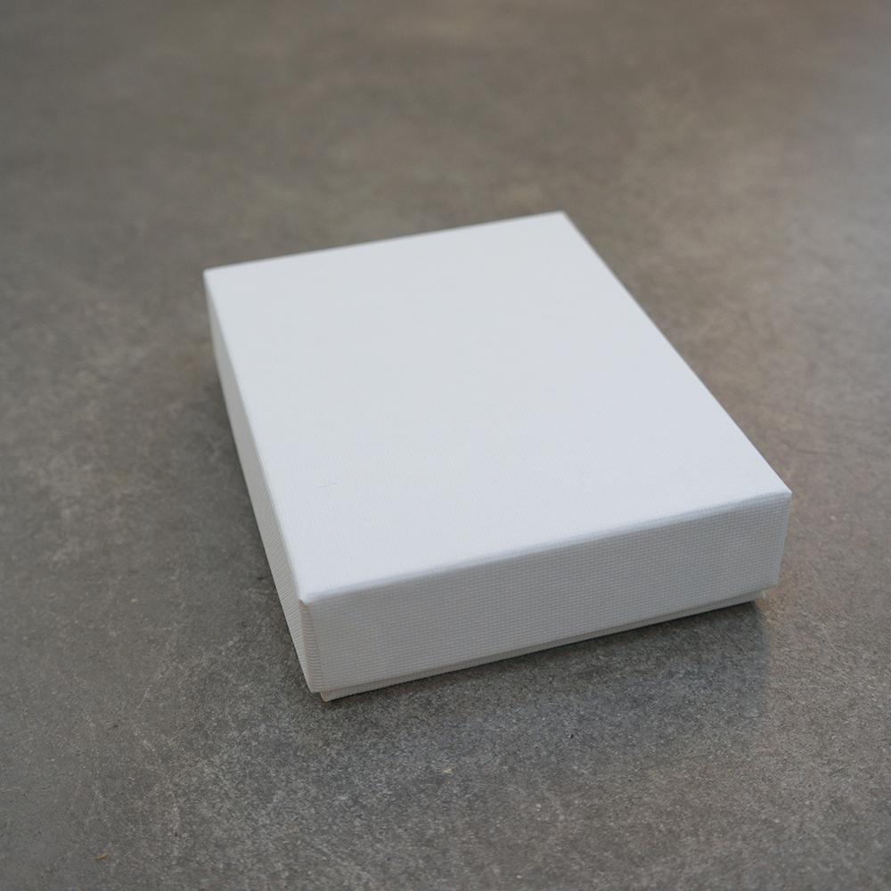 Luxe cadeaudoos met deksel wit 140x105x32mm per 10 stuks - Deksel x ...