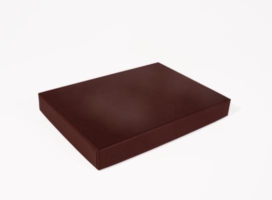 Luxe dozen met deksel 168 x 123 x 20 mm bruin - Deksel x ...